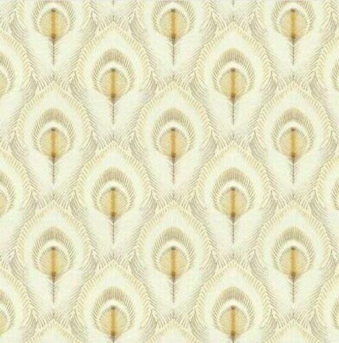 Laura Ashley Montague Gold Wallpaper coller au mur RRP £ 45