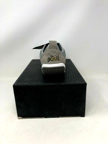 NOUVEAU Hommes Piloti Spyder-S1 Conduite Chaussures Gris//Rouge//Blanc R49 Y