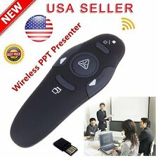 2.4GHz Wireless Presenter USB Remote Control Presentation Mouse Laser Pointer US