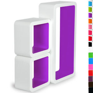 Floating-Wall-Shelves-Wall-Mount-Shelf-Wood-for-Room-Storage-amp-Decorative-u119