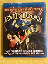 Evil Toons Blu Ray Special Edition For Sale Online Ebay
