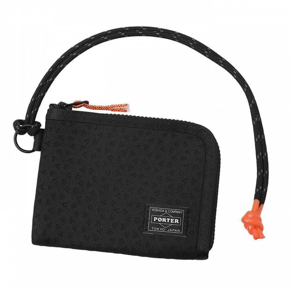 Yoshida Porter Bag HEXARIA WALLET 682-17960 Black From JP m192