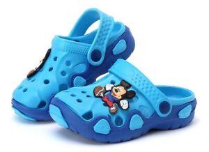 Scarpe-bambini-Mickey-topolino-sandali-bimbi-crocs-ciabatte
