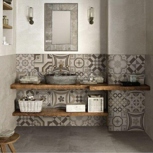 PS00151 Adesivi murali in pvc per piastrelle per bagno e cucina Stickers design