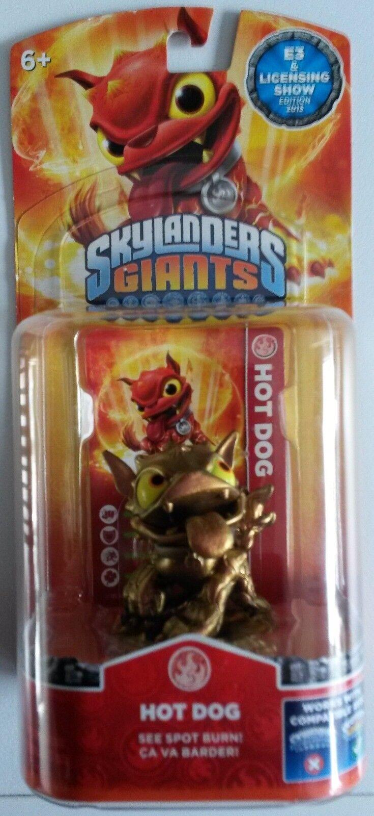 Skylanders Giants Bronze varm Dog E3 Skylander Sällsynt