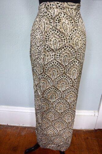 Morlove Couturier 1960s Vintage Skirt