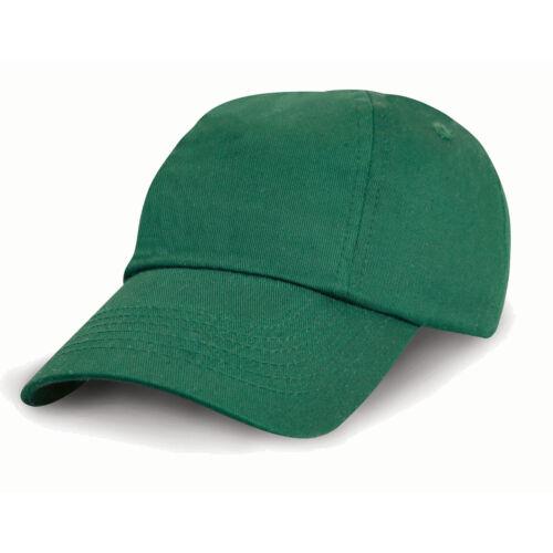 Result Headwear Children/'s Low Profile Cotton Cap Kids Baseball Hat RC18J