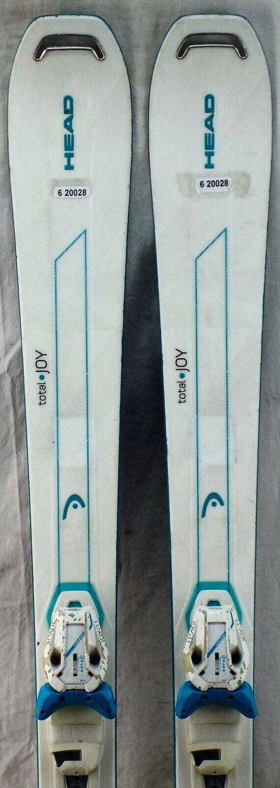 16-17 Kopf Total Joy Used Frau's Demo Skis w Bindings Größe 148cm