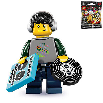 LEGO 8833 Minifigures Series 8 Music DJ w// Wrapper Checklist 2012 New USA!