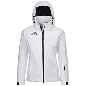 Kappa-Herren-Jugend-6-Cento-652-Technische-Ski-Snowboard-Winter-Jacke-Slim-weiss