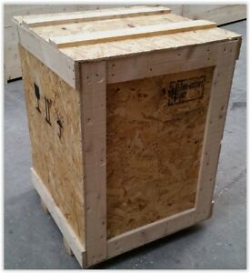 image is loading wooden shipping crates transit packing cases boxes 50 - Wooden Shipping Crates