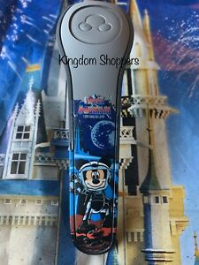 NEW Disney Parks Space Mountain BLUE Magic Band 2 Magicband Mickey Stitch