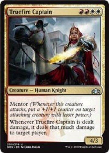 4x Truefire Captain uncommon Guilds of Ravnica MTG Magic The Gathering 4x