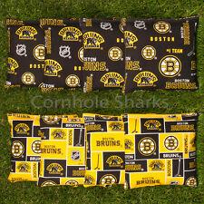 Cornhole Bean Bags Set of 8 ACA Regulation Bags Boston Bruins Free Ship!!