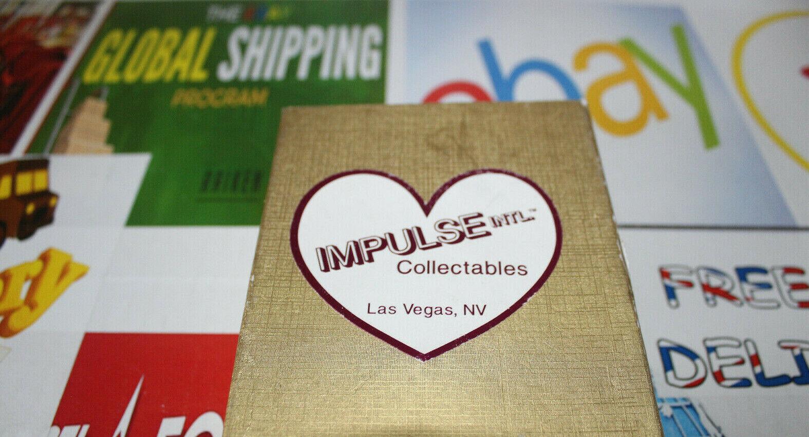 Impulse Intl. Jeweled with Crystals + Box