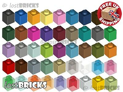 LEGO Parts NEW Pack of 10 Brick 1x1 3005 MEDIUM DARK FLESH