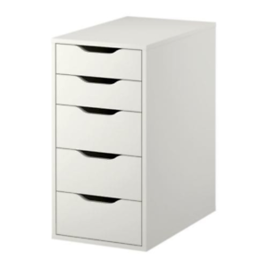Ikea Alex Drawer Unit White 101 928 24