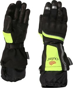 Weise-Strada-Outlast-Black-Neon-Leather-Textile-Waterproof-Motorcycle-Gloves