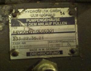 Rexroth Hydromatik A4V90HD1.C. 0L0030 Hydraulikpumpe Hydraulikmotor 233.22.35.21