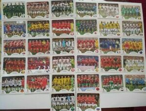 Panini-coupe-du-monde-2018-equipe-images-equipe-photos-COMPLETE-SET-WORLD-CUP-WC-18