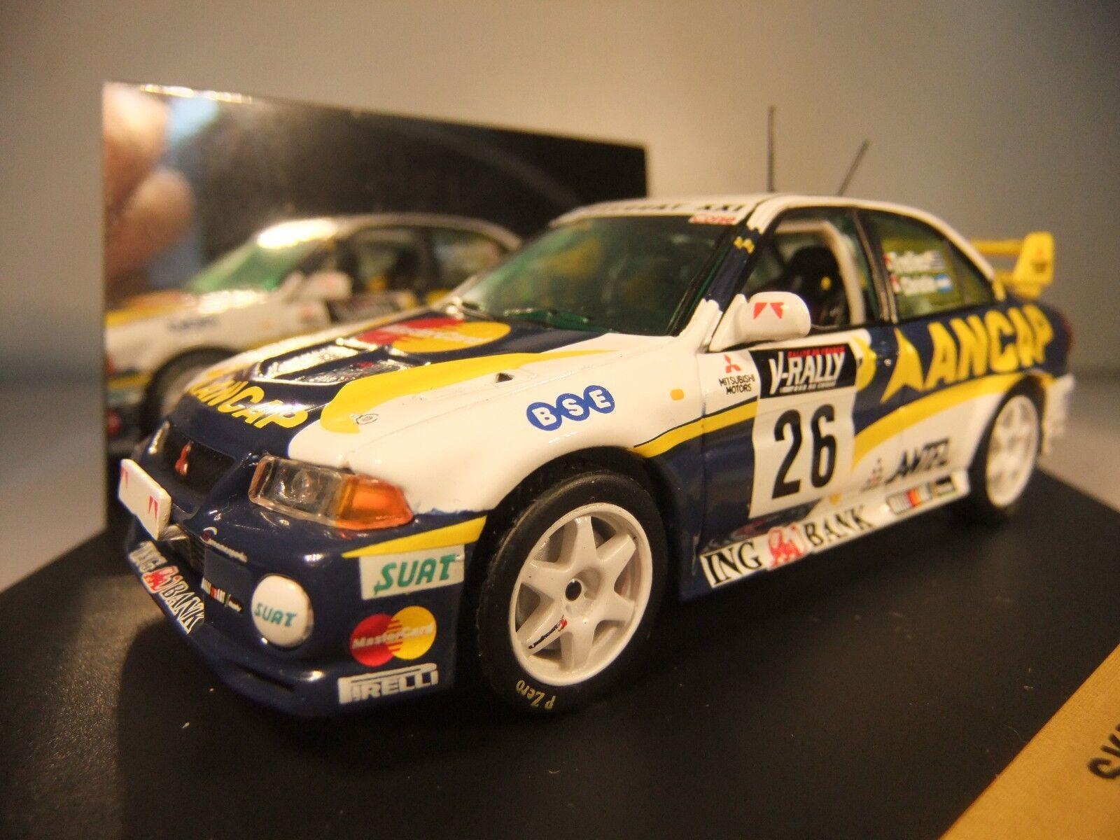 1 43 Vitesse SKID SKM105 Mitsubishi Lancer Evo VI Tour de Corse 1999 MINT Boxed