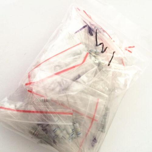 200x 20 valeur 1 W 5/% Résistances Résistance Assortiment Kit 10 Ohm 1 M ohm Set