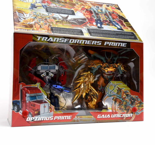Transformers Exclusive Optimus Prime Gaia Unicron Year Of Snake set Gift Toy Hot