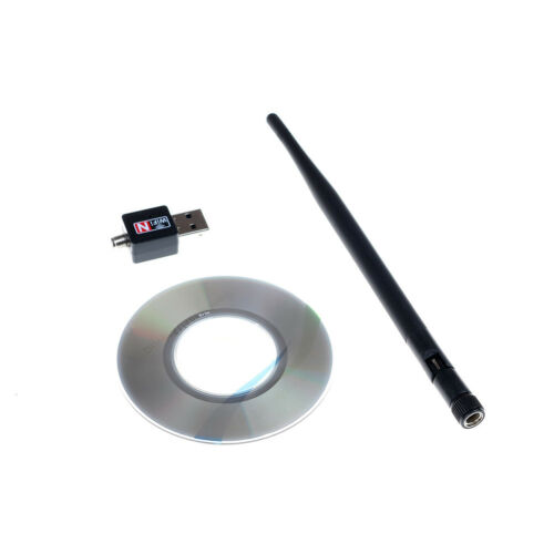 2.4Ghz 600Mbps dual band wireless usb wifi network lan adapter antenna BH