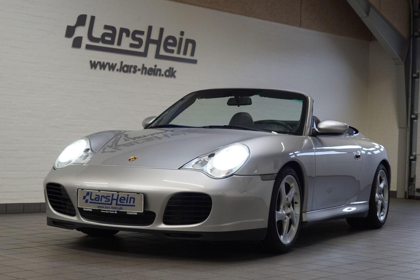 Porsche 911 Carrera 4S 3,6 Cabriolet Tiptr. 2d - 529.800 kr.
