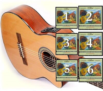 Gitarrensaiten Höfner Premium Strings zusätzlicher D-Saite Saiten für Classic