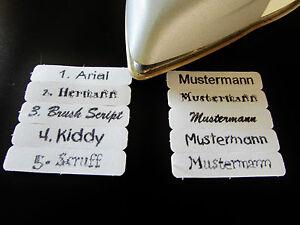ArtNr.013 Namensaufbügler  AUFBÜGELN FERTIG Wunschname // Wunschtext