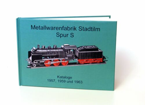 Libro metallwarenfarbik Stadtilm pista s, reprint catálogos pista s 1957, 1959, 1963