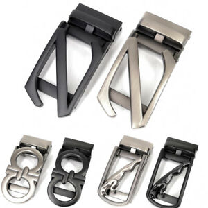 Men-039-s-Belt-Buckles-Metal-Letter-Z-Buckles-Ratchet-Click-Buckle-For-3-5-cm-Belt