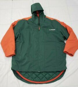 Nike-Rare-Men-XL-Green-University-of-Miami-Hurricanes-Winter-Parka-Jacket