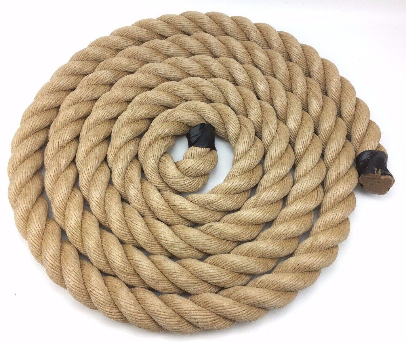 50mm Cuerda sintetica terraza X 10 metros, cuerda barato para terrazas, Cuerda de Manila