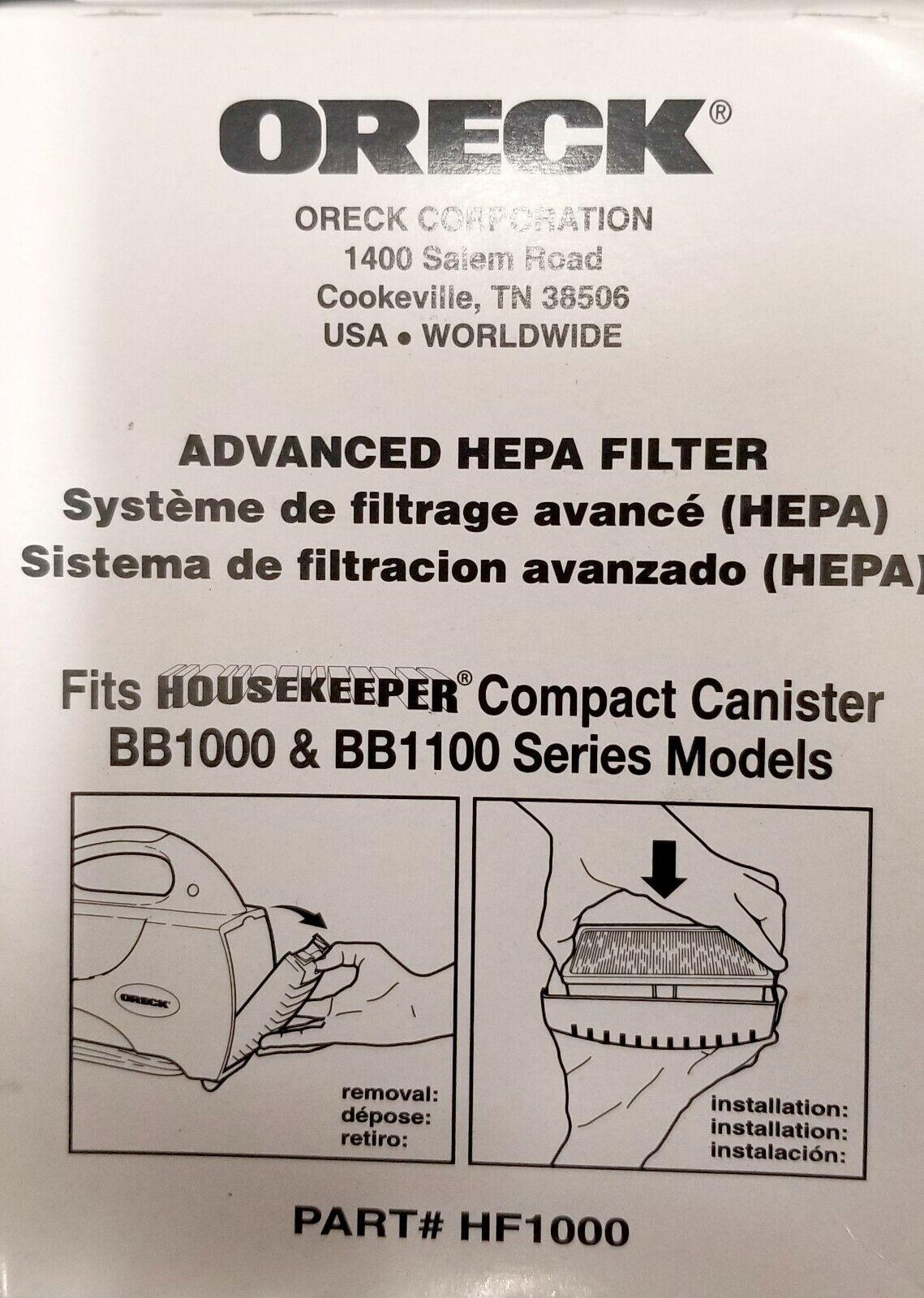 diagram of oreck oreck advanced hf1000 hepa filter for housekeeper bb1000 bb1100 diagram of orca oreck advanced hf1000 hepa filter for