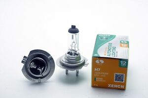 2x-HALOGEN-BULBS-XENCN-H7-100W-PX26d-12V-WHITE-3200K-CLEAR-STANDARD-OFF-ROAD