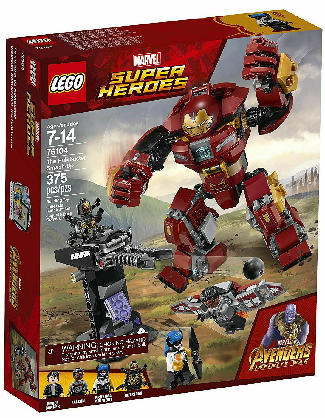 LEGO Marvel Super Heroes The Hulkbuster Smash-Up 2018 - New New New & sealed 1dceb0