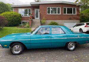 Dodge Dart Custom 1969 moteur 318 refait à neuf!