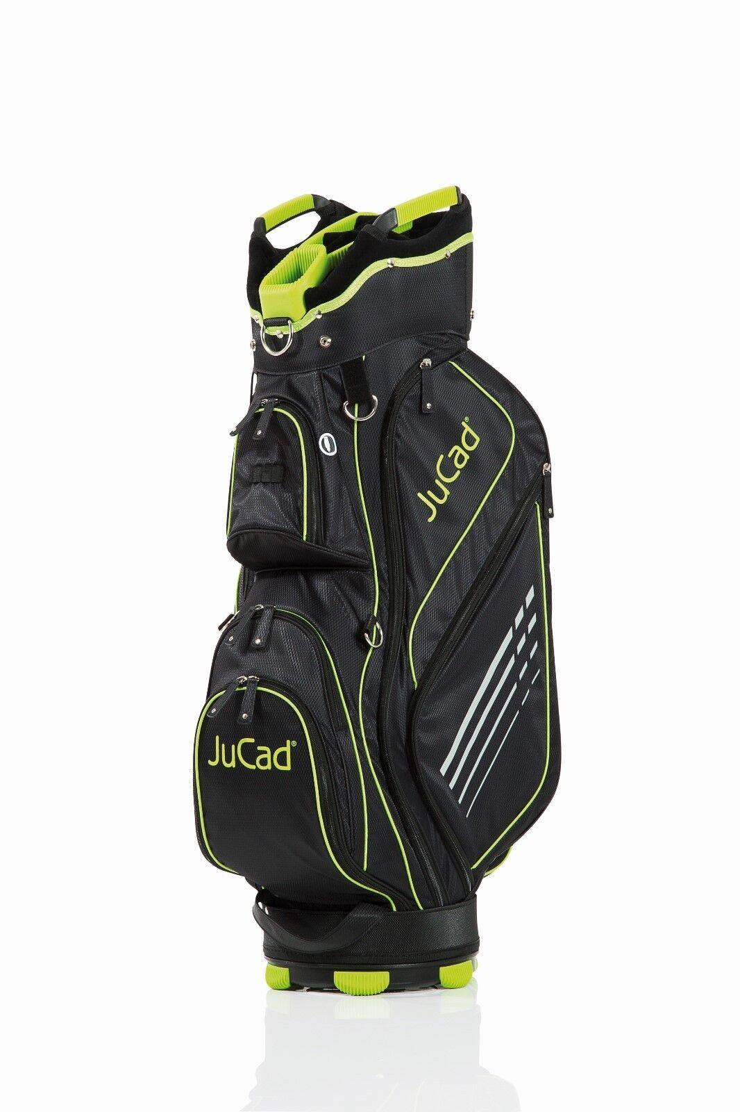 Jucad Bolso sportlight-Color  negro-verde-deportivo y súper ligero, novedad    80% de descuento