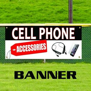Cell Phone Accessories Vinyl Banner Sign Mobile Wireless