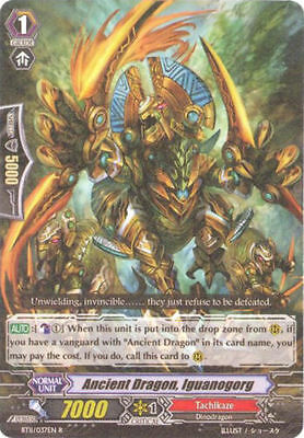 Tyrannolegend CARDFIGHT Vanguard English BT11//013EN RR Ancient Dragon