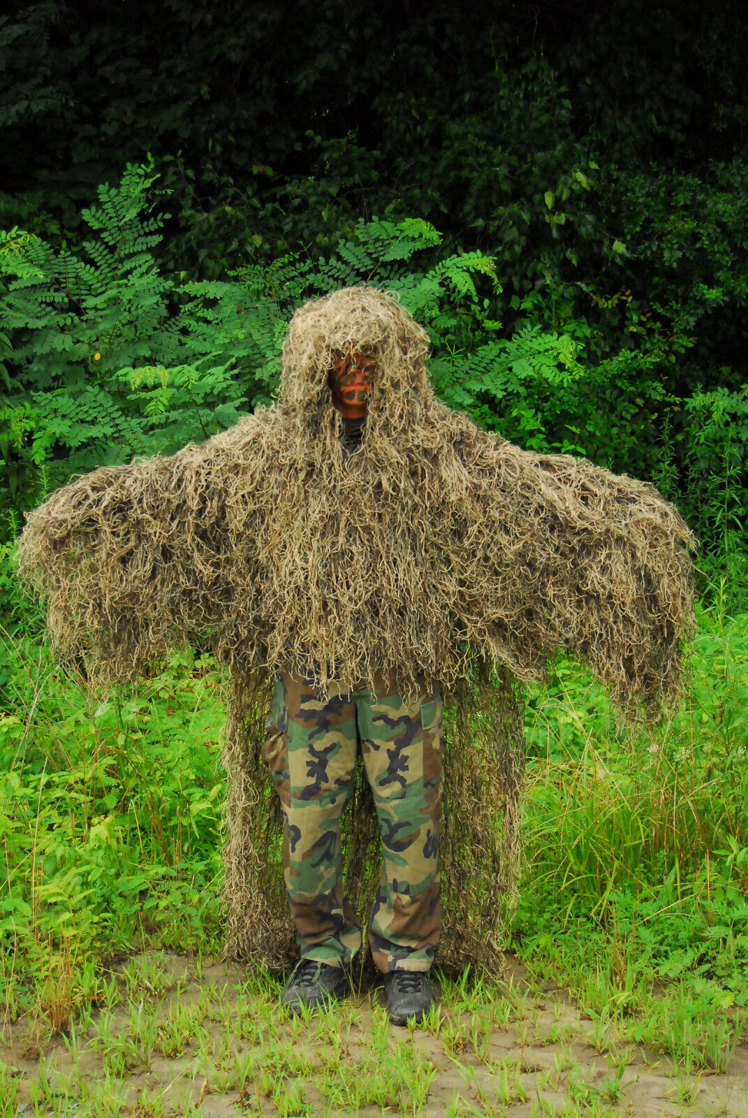 Synthetic Ghillie Stalker suit - Mossy Farbe