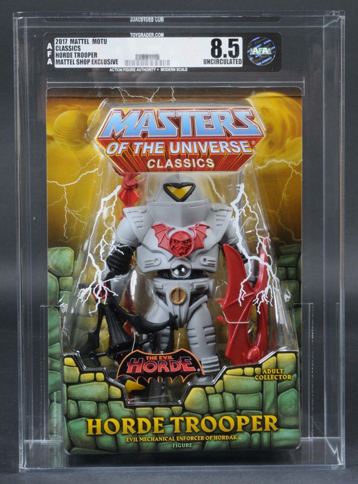 2017 Mattel MOTU Horde Trooper AFA U8.5 MOTUC MOTUC MOTUC Masters of the Universe Classics a3f20f