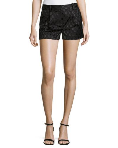 Diamond Black Furstenberg Napoli Dvf 6 Von Taglia Nwt Shorts Jacquard Diane IwfqXx