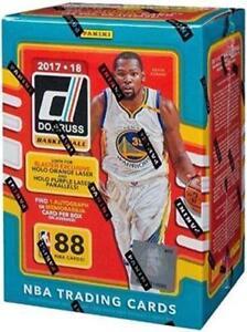 Panini-Donruss-Basketball-2017-18-11-Pack-Blaster-Box-1-Autograph-NBA