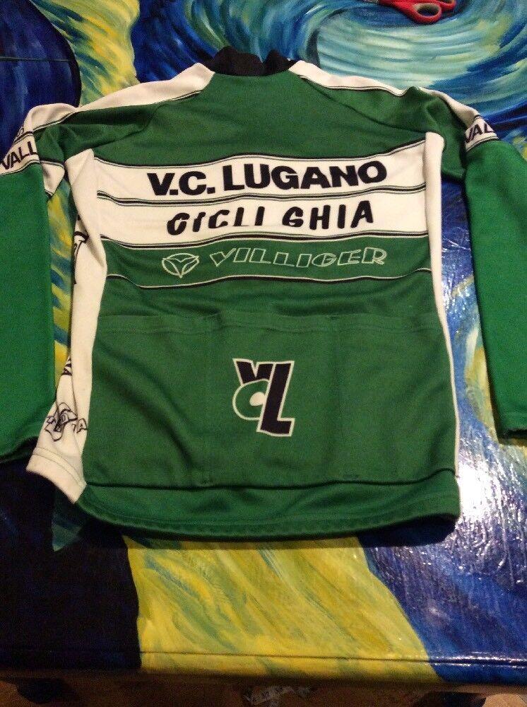 Assos Switzerland Long Sleeve Cycling Jersey Large Villiger