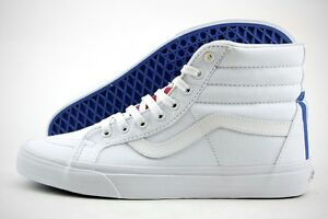 9be84034fbf Vans Sk8- Hi Reissue (1966) True White   Blue   Red   Yellow MSRP