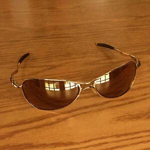 54ca03cf7b Oakley Crosshair S ~ Polished Gold ~ VR28 Gold Iridium Lenses romeo ...