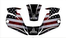 Miller Digital Elite 257213 Tatinium Welding Helmet Wrap Decal Sticker Tread On